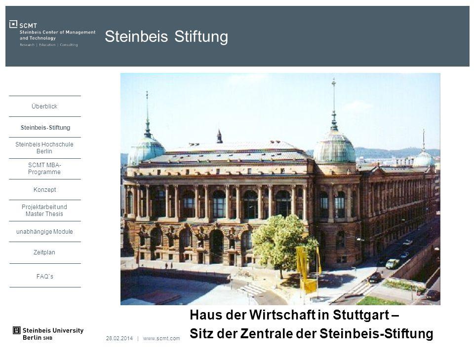 Steinbeis Stiftung Haus der Wirtschaft in Stuttgart –