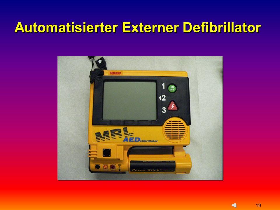 Automatisierter Externer Defibrillator