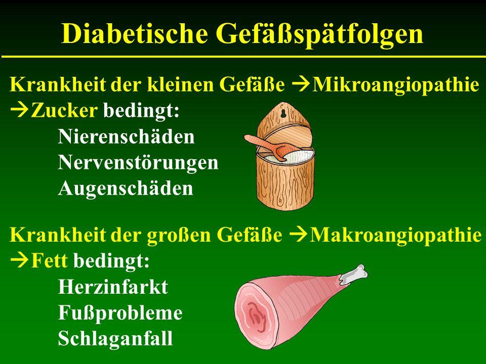 Diabetische Gefäßspätfolgen