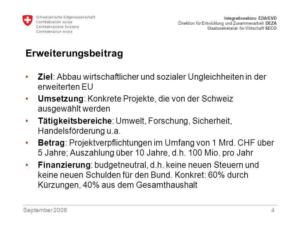 ErweiterungsbeitragZiel: Abbau wirtschaftlicher und sozialer Ungleichheiten in der erweiterten EU.