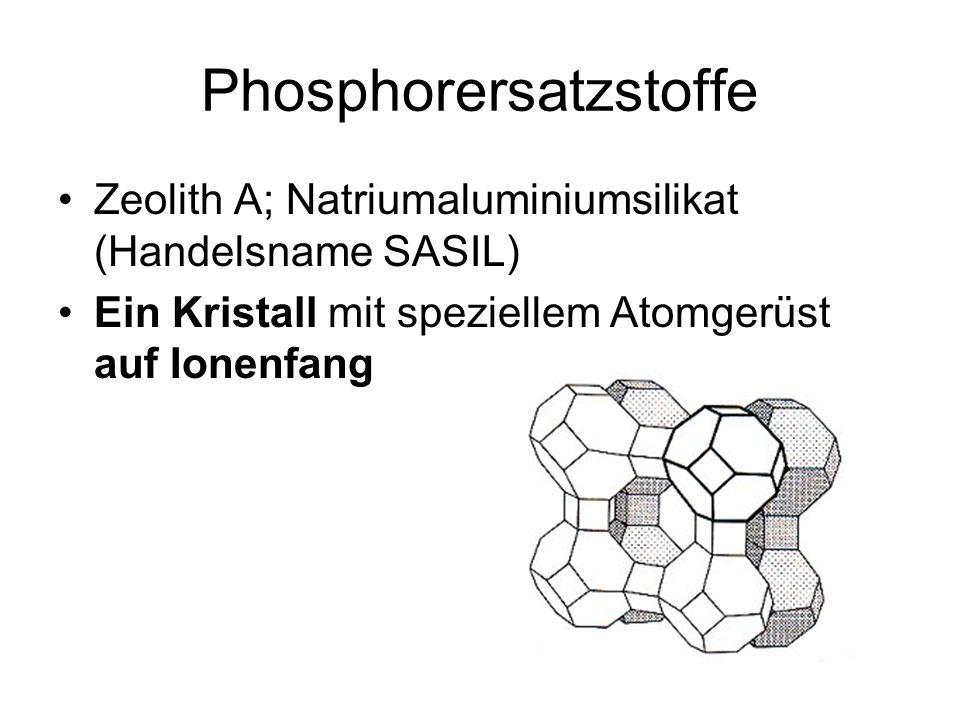 Phosphorersatzstoffe