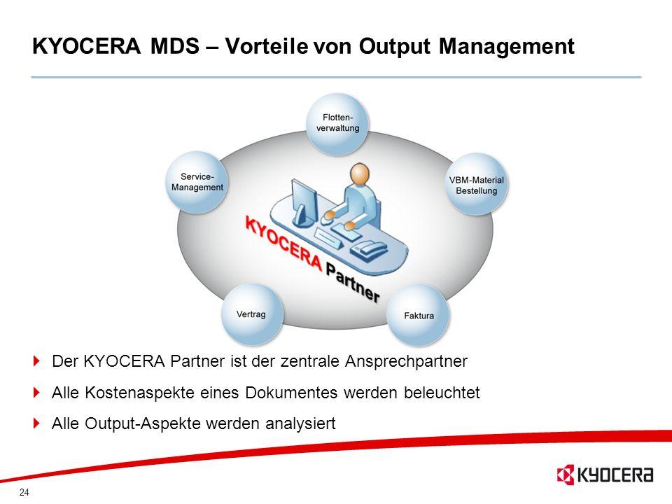 KYOCERA MDS – Vorteile von Output Management
