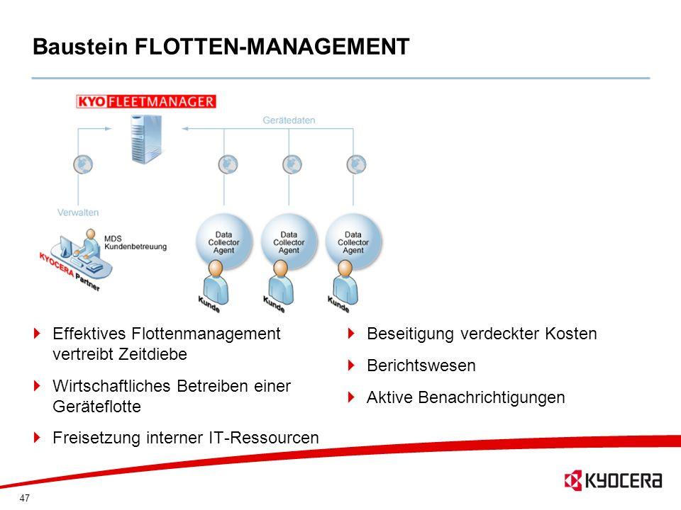 Baustein FLOTTEN-MANAGEMENT