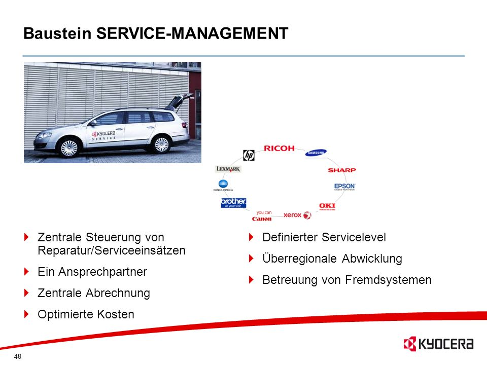 Baustein SERVICE-MANAGEMENT