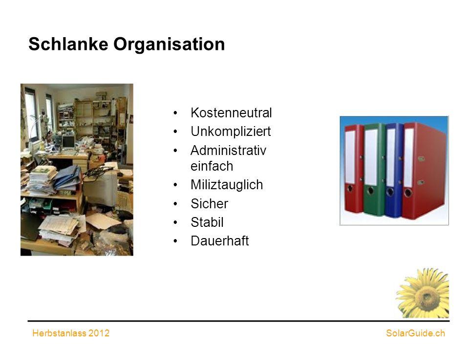 Schlanke Organisation