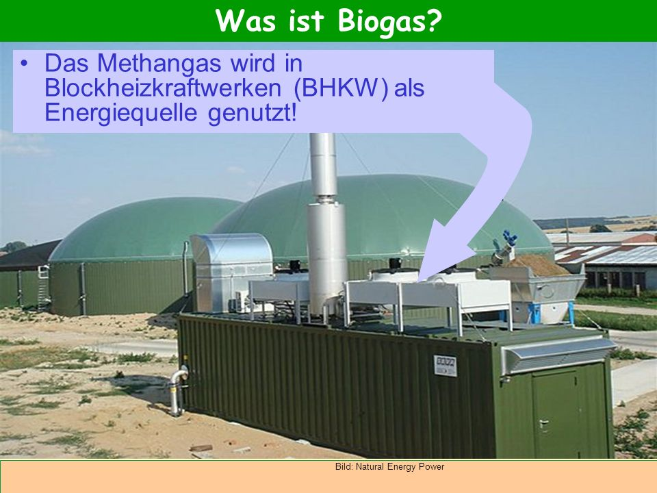 biogas als alternative energiequelle ppt video online. Black Bedroom Furniture Sets. Home Design Ideas