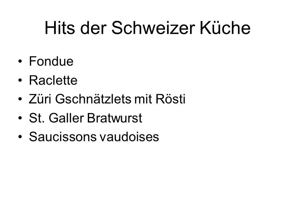 Hits der Schweizer Küche