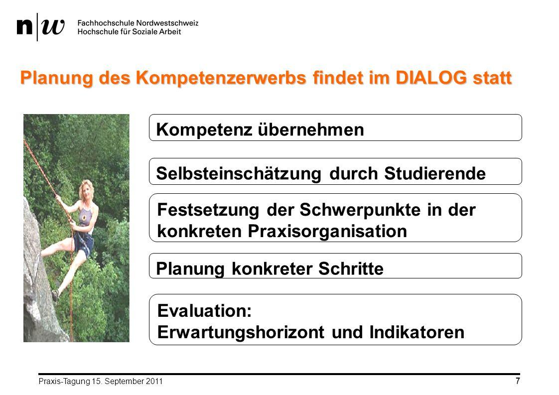 Planung des Kompetenzerwerbs findet im DIALOG statt