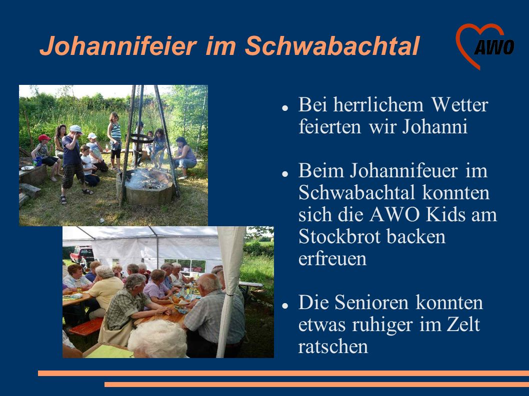 Johannifeier im Schwabachtal