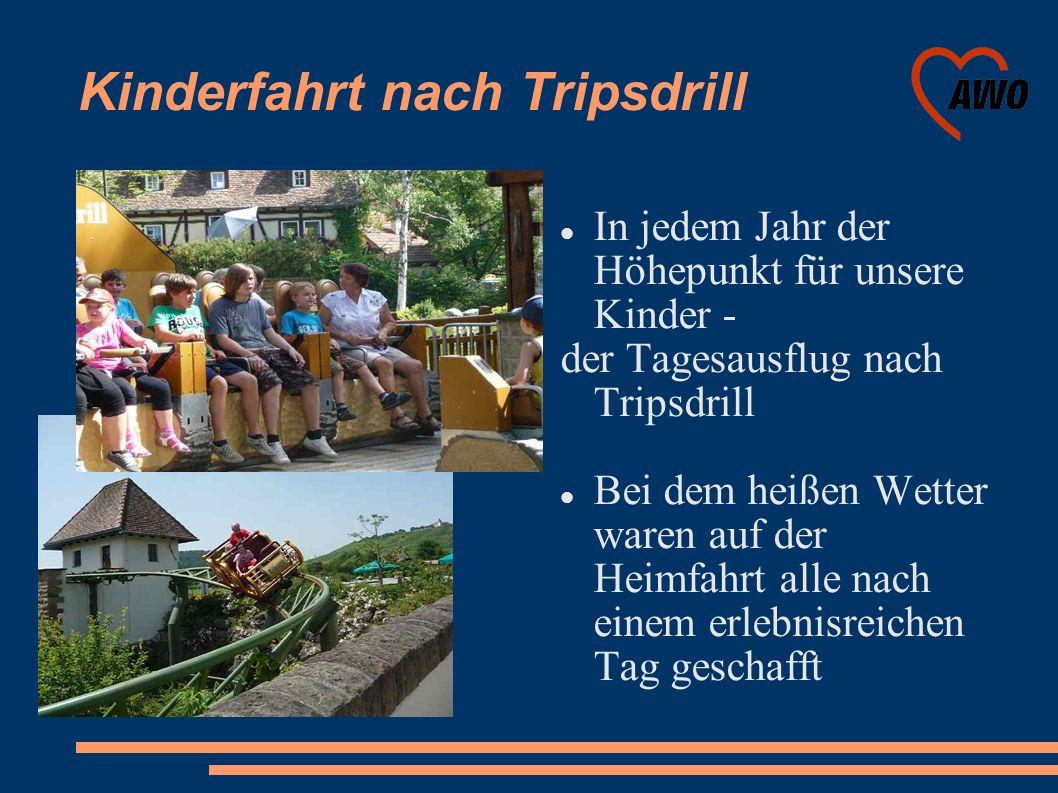 Kinderfahrt nach Tripsdrill