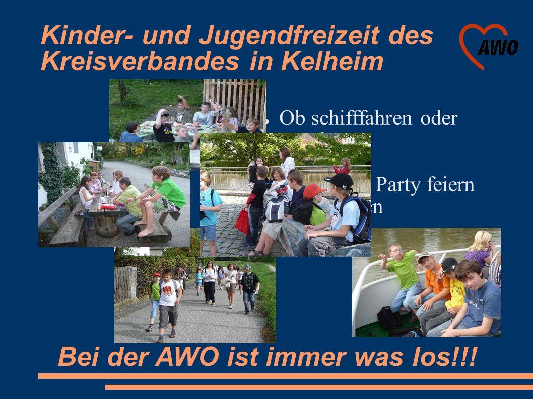 Kinder- und Jugendfreizeit des Kreisverbandes in Kelheim