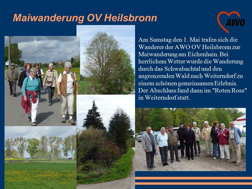 Maiwanderung OV Heilsbronn