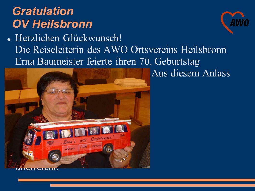 Gratulation OV Heilsbronn