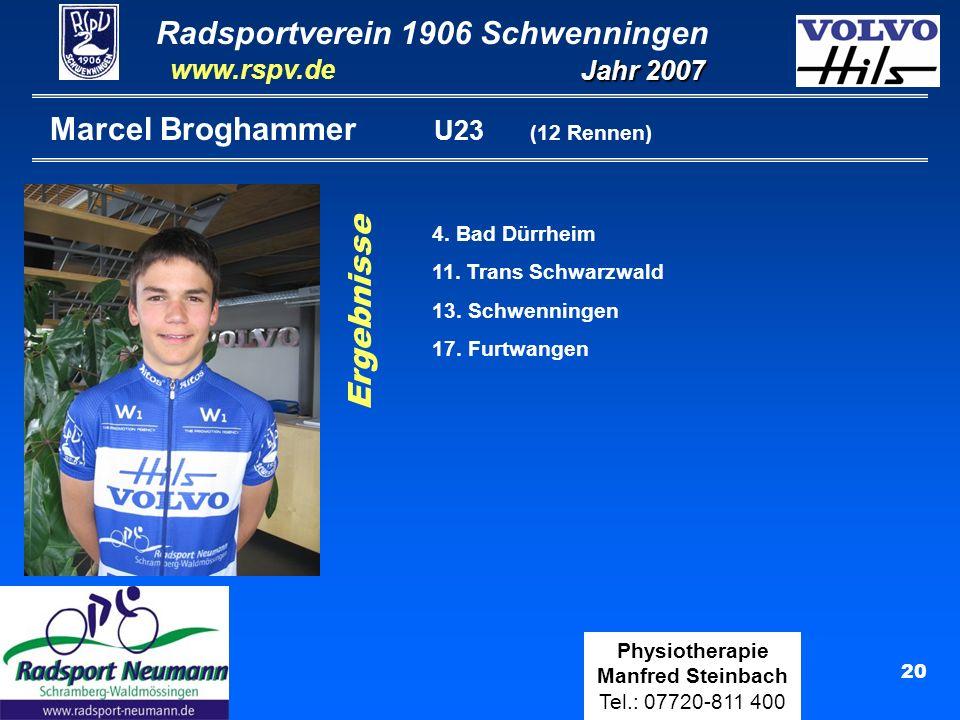 Marcel Broghammer U23 (12 Rennen)