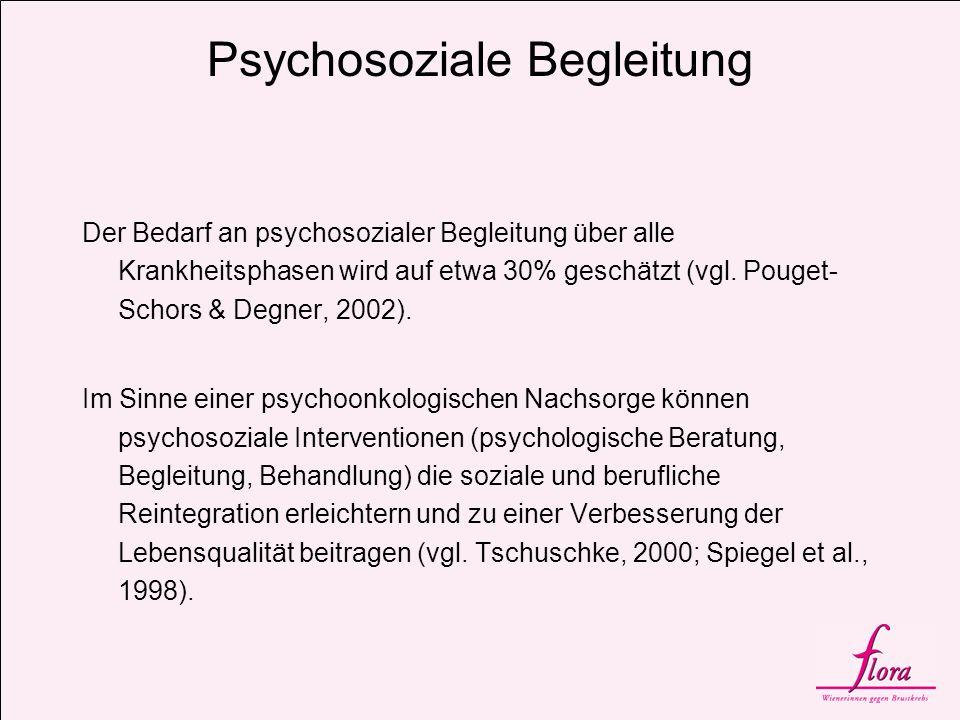 Psychosoziale Begleitung