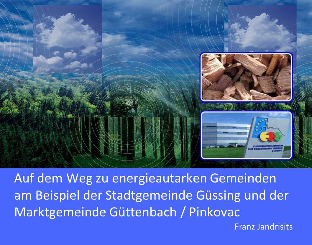 Auf dem Weg zu energieautarken Gemeinden am Beispiel der Stadtgemeinde Güssing und der Marktgemeinde Güttenbach / Pinkovac