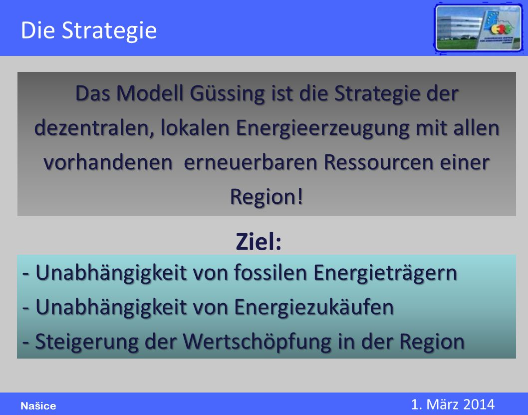 Die Strategie