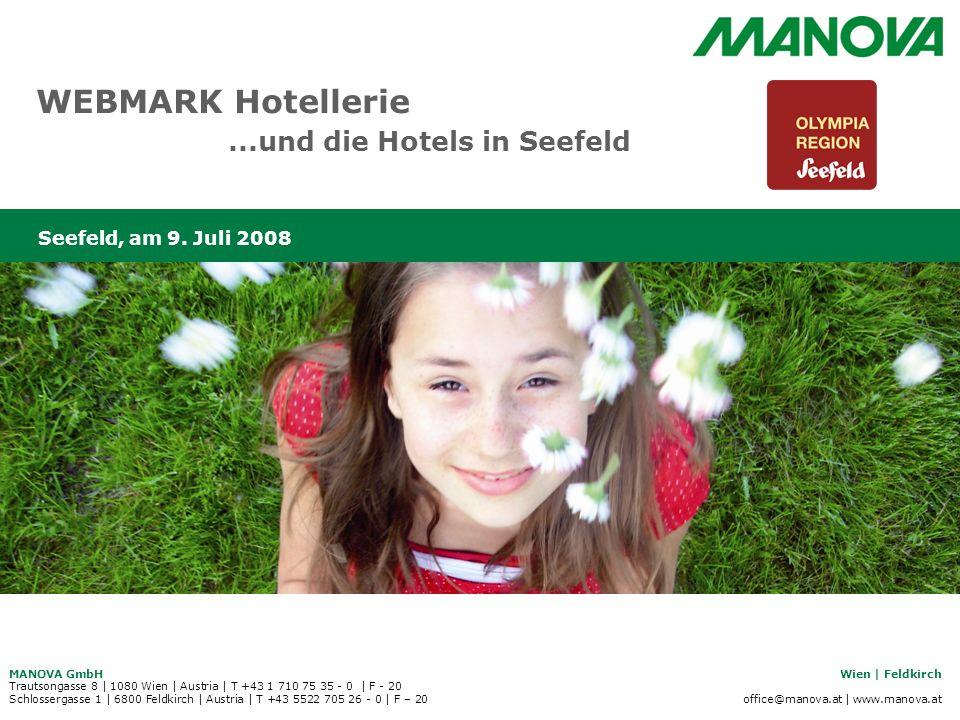 WEBMARK Hotellerie ...und die Hotels in Seefeld