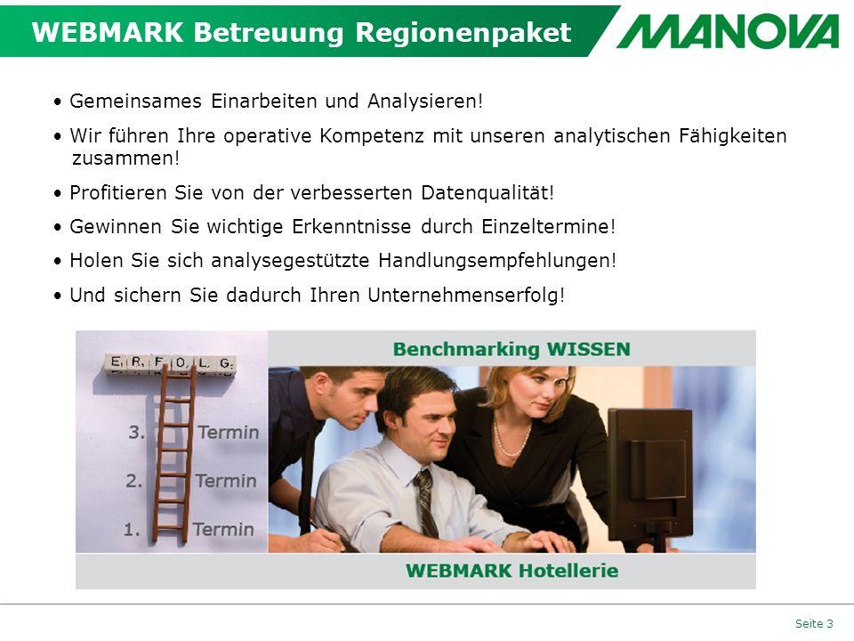 WEBMARK Betreuung Regionenpaket