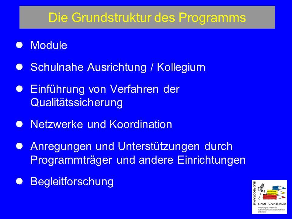 Die Grundstruktur des Programms