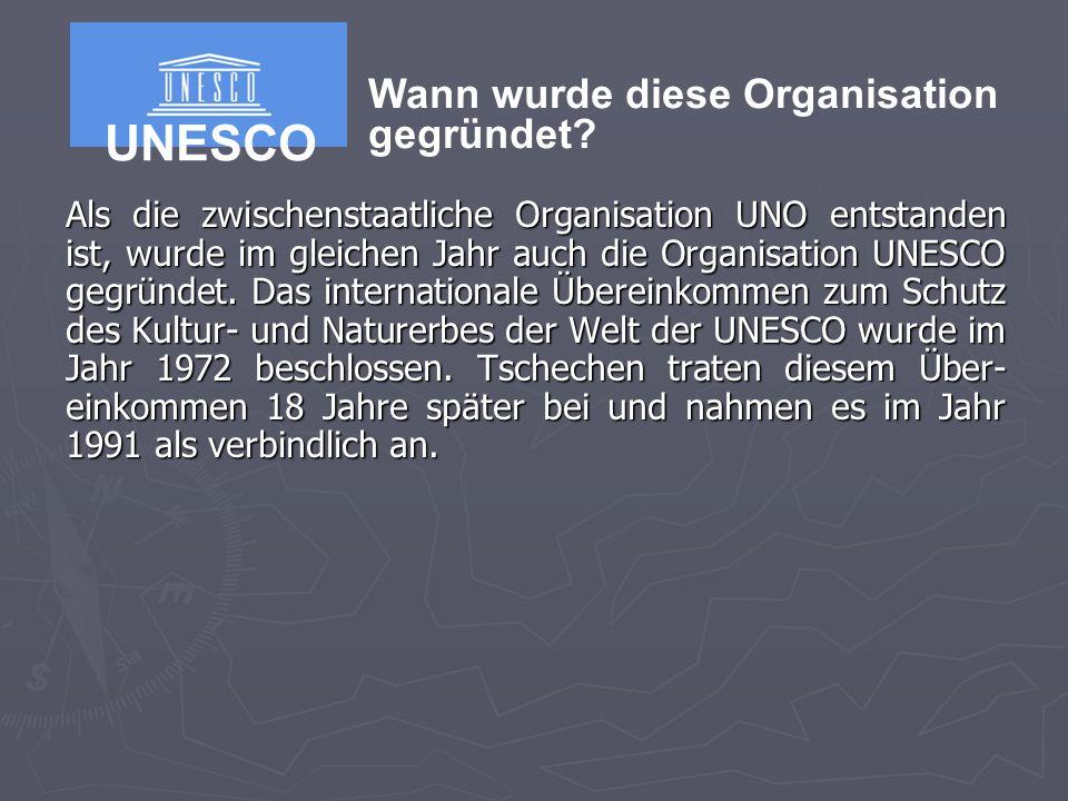 UNESCO Wann wurde diese Organisation gegründet