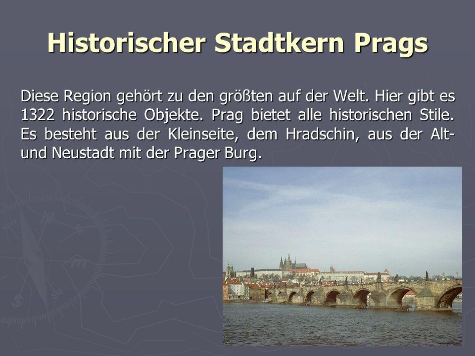Historischer Stadtkern Prags