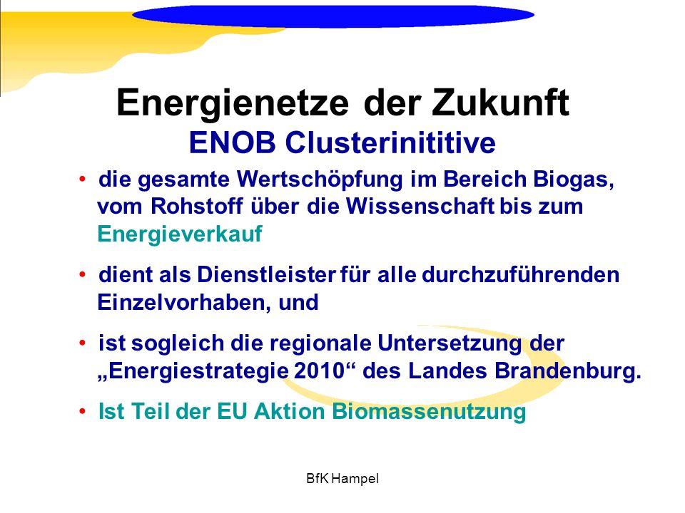 Energienetze der Zukunft ENOB Clusterinititive