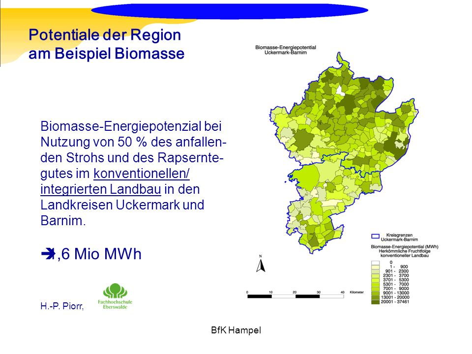 Potentiale der Region am Beispiel Biomasse