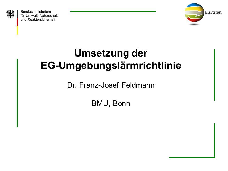 EG-Umgebungslärmrichtlinie
