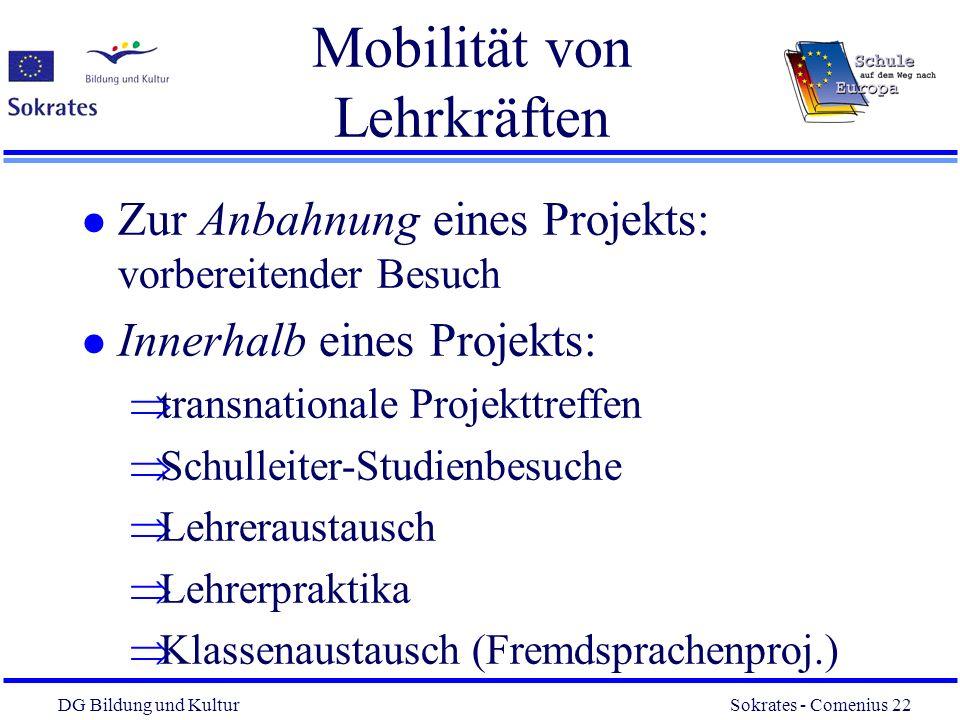 Mobilität von Lehrkräften