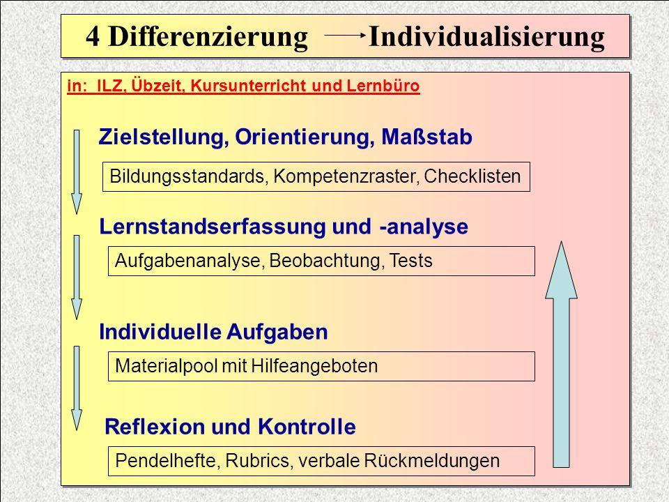 4 Differenzierung Individualisierung