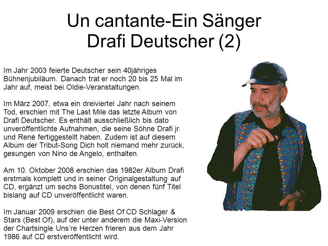 Un cantante-Ein Sänger Drafi Deutscher (2)