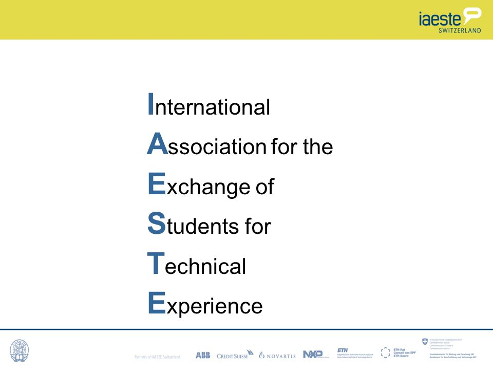 International Association for the Exchange of Students for Technical Experience