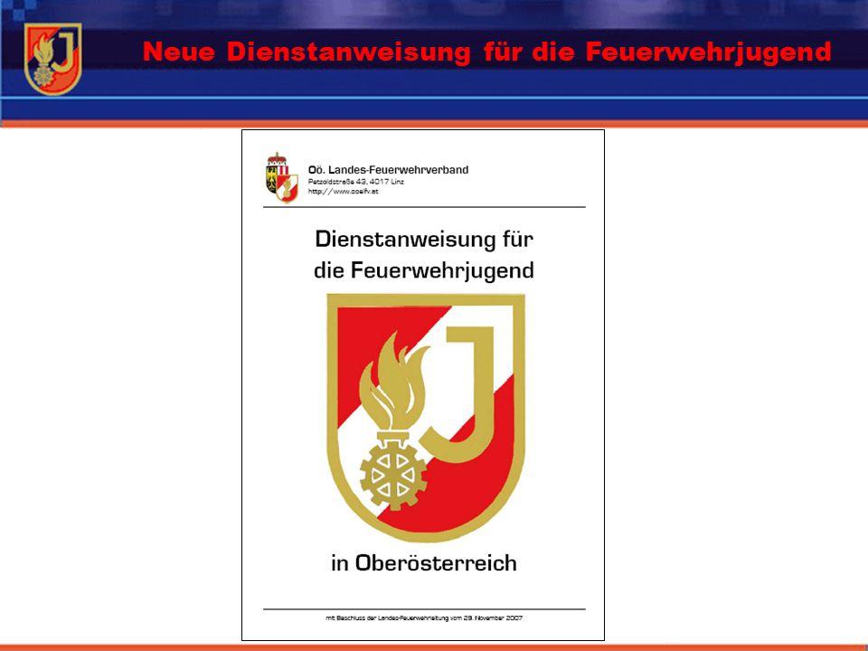 Neue Dienstanweisung für die Feuerwehrjugend
