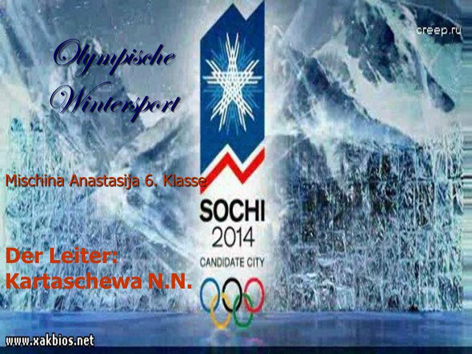 Olympische Wintersport