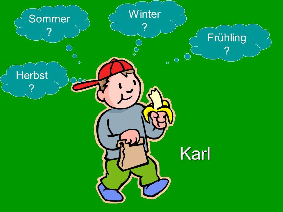 Winter Sommer Frühling Herbst Karl