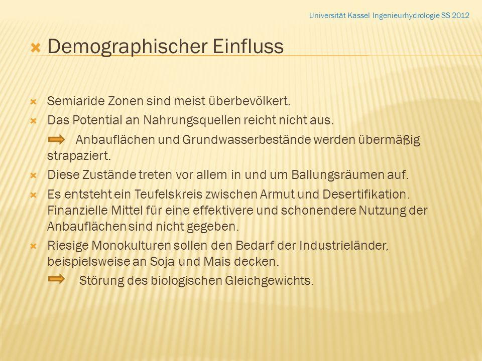 Demographischer Einfluss