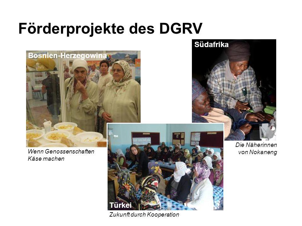 Förderprojekte des DGRV