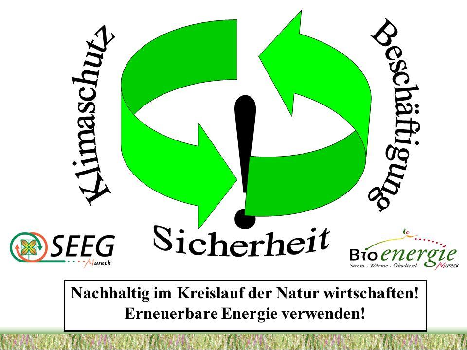 ! Nachhaltig im Kreislauf der Natur wirtschaften!