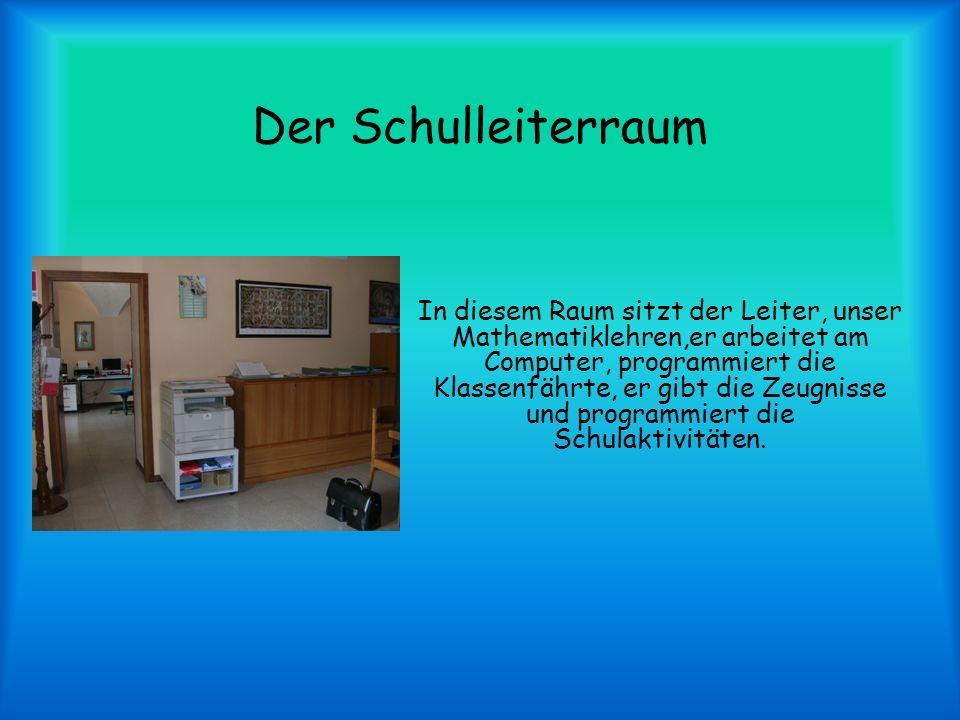 Der Schulleiterraum