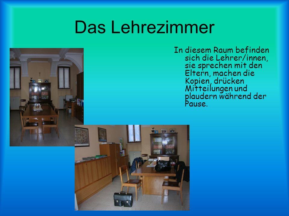 Das Lehrezimmer
