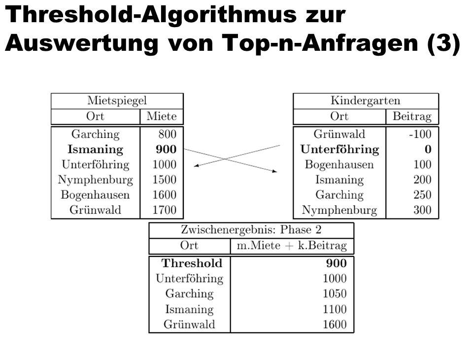 Threshold-Algorithmus zur Auswertung von Top-n-Anfragen (3)