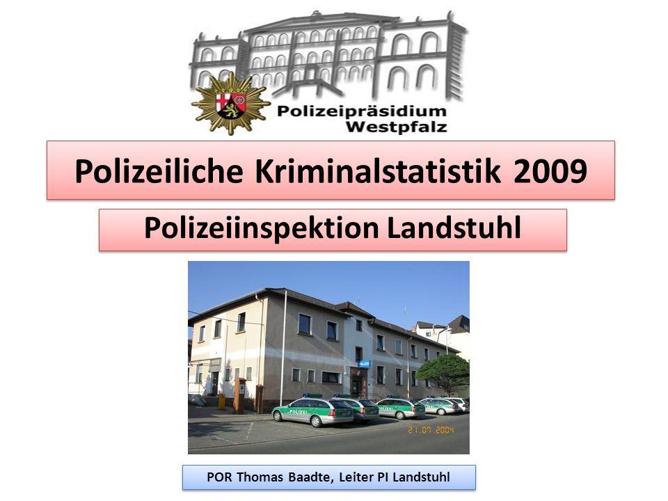 Polizeiliche Kriminalstatistik 2009