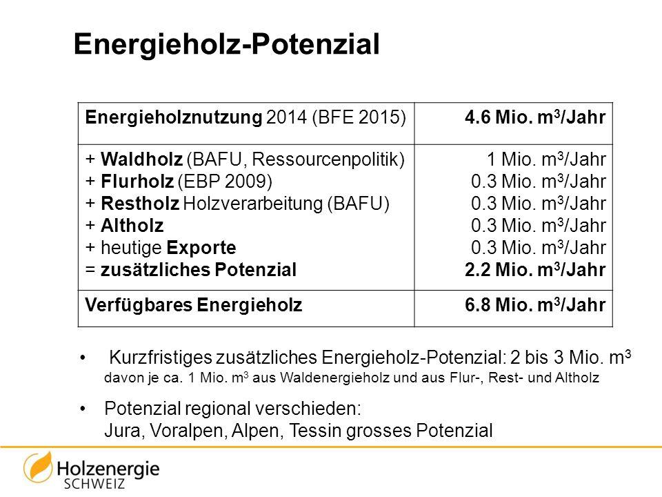 Energieholz-Potenzial