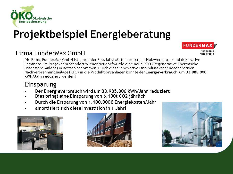 Projektbeispiel Energieberatung
