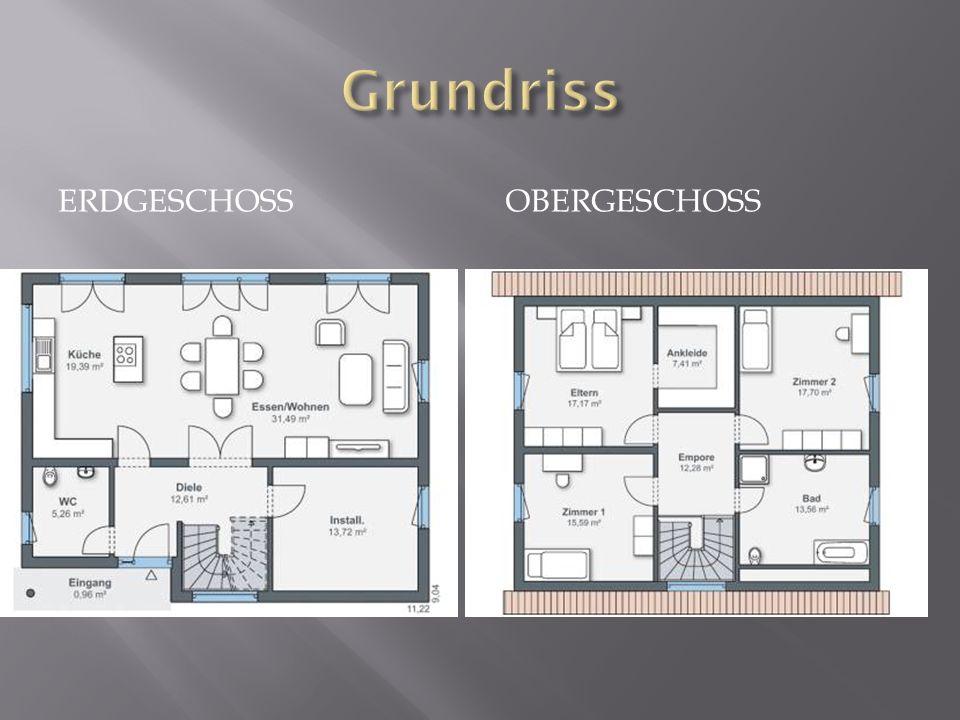 Grundriss Erdgeschoss Obergeschoss