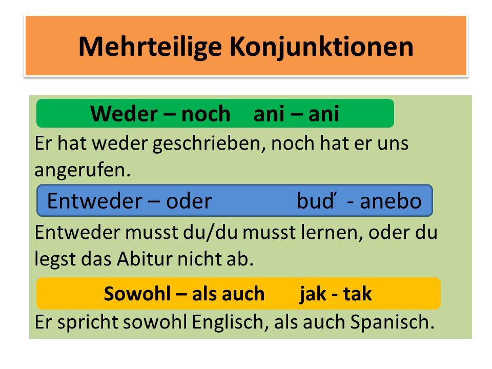 Sowohl Englisch