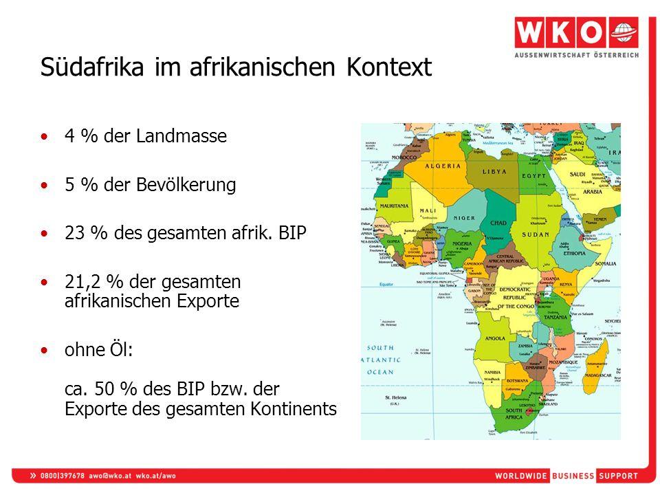 Südafrika im afrikanischen Kontext