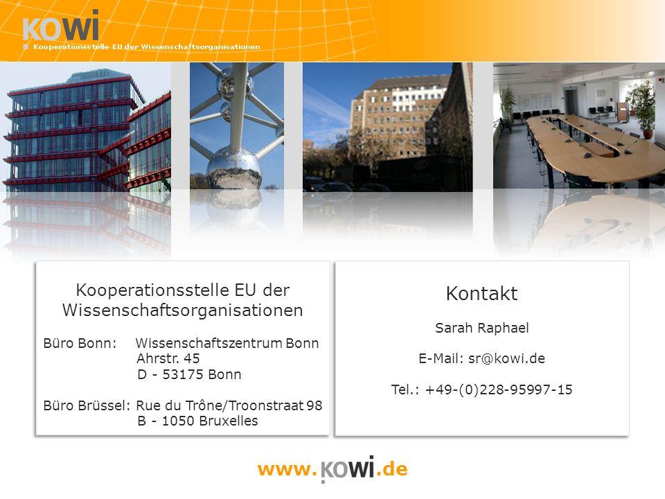 Kooperationsstelle EU der Wissenschaftsorganisationen