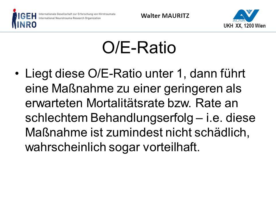 O/E-Ratio